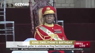 Thousands Gather To Celebrate As King Zwelithini Turns 67