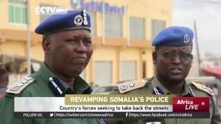 Somalia Police Receive A Make Over