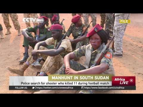 Police Search For Shooter Who Killed 11 During Football Match In South Sudan