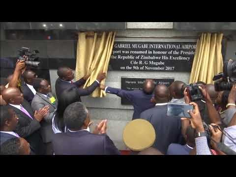 Zimbabwe Airport Named After President Robert Mugabe