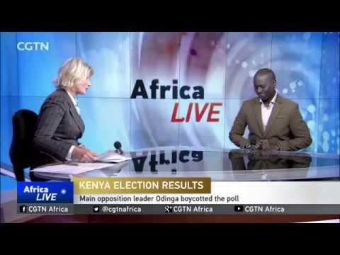 Uhuru Kenyatta Wins Repeat Poll With 98% Of The Vote