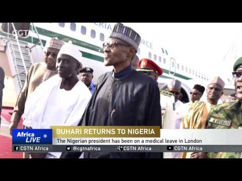 The Nigerian President Has Been On A Medical Leave In London