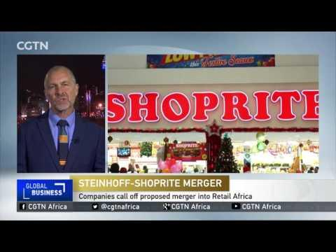 STEINHOFF SHOPRITE Negotiations Terminated After Failure To Agree On Exchange Ratio