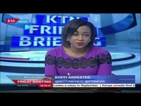Musician Koffi Olomide Arrested After An Interview In Nairobi