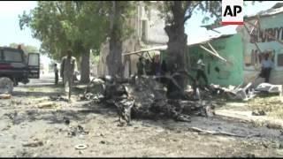At Least 11 People Were Killed In Mogadishu, Somalia When A Car Bomb Exploded Near A Tea Shop