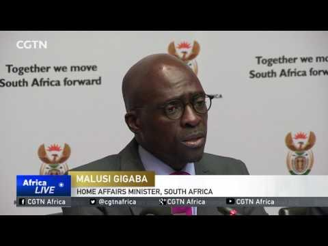 Home Affairs Minister Gigaba: Govt Doing All It Can To Quash Wave Of Violence