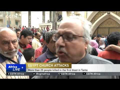 Overall Death Toll From Twin Blasts At Churches In Egypt Rises To Above 40