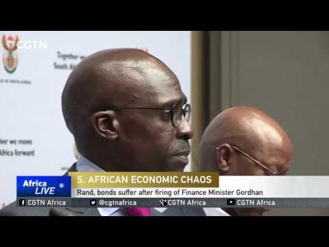 Rand, Bonds Suffer After Firing Of Finance Minister Gordhan