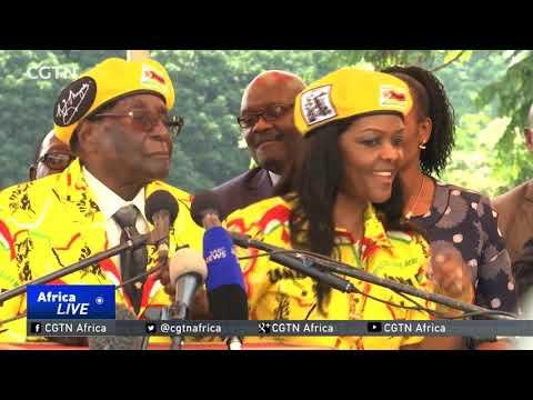 Ruling ZANU-PF Backs First Lady Grace Mugabe As New VP