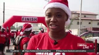 Santa Dash: Nigerians Run For 5 Kilometres For Charity