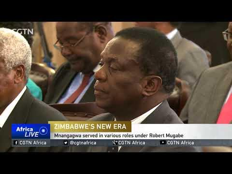 Emmerson Mnangagwa To Be Sworn In As Interim President
