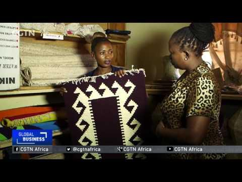 Uganda Farmers Earn Income From Making Crafts From Banana Fibre