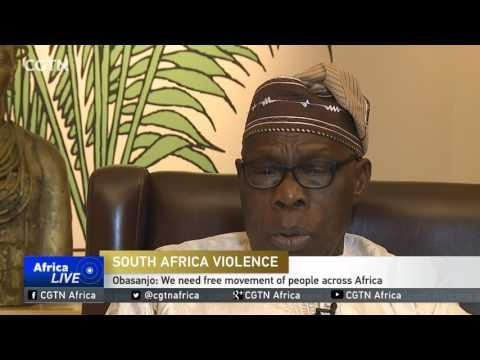 Former Nigerian Leader Obasanjo Condemns Attacks On Foreigners