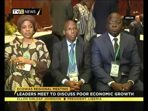 ECOWAS Leaders  Meet To Discuss Poor Economic Growth