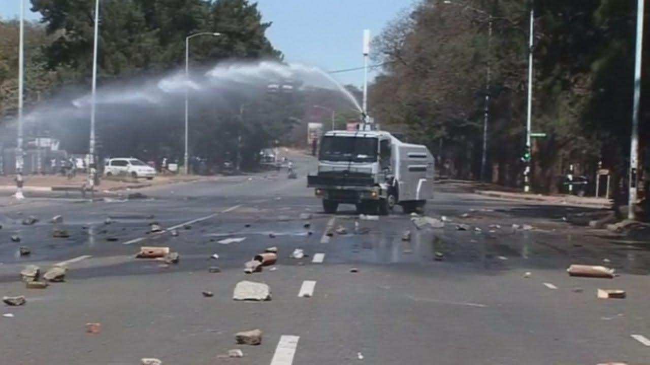 Violence Erupts In Zimbabwe After Anti Mugabe Protest