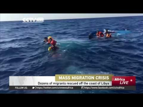 Dozens Of Migrants Rescued Off The Coast Of Libya