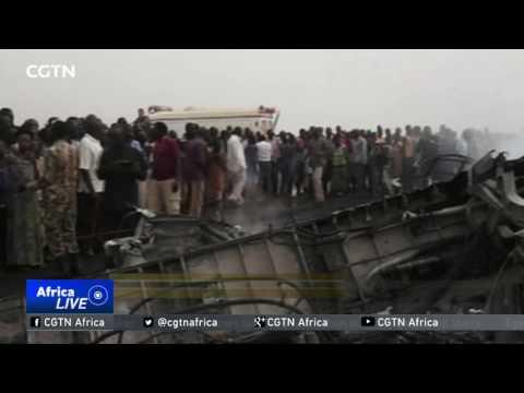 S.Sudan Plane Crash: Chinese Peacekeepers Participate In Rescue Operation