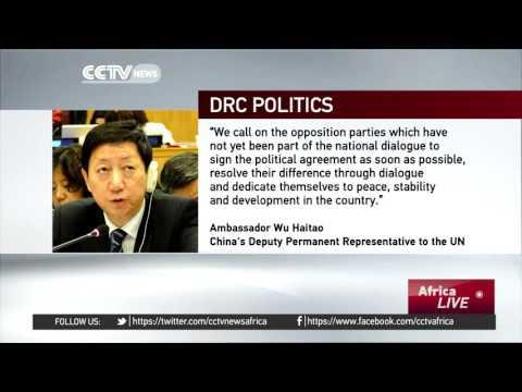 China Urges DRC's Main Opposition To Join Negotiations With Government