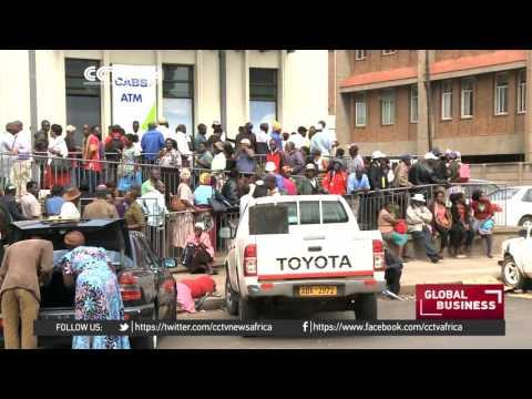 Currency Shortage In Zimbabwe Prompts Overnight Queuing Outside Banks