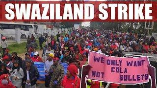 Eswatini Public Sector Workers Face Violent Repression for Strike Action