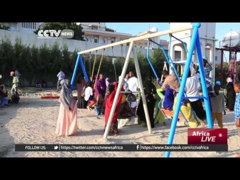 Garden In Mogadishu That Attracts Hundreds Of Families Every Weekend