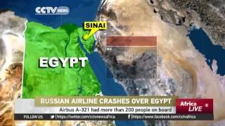 Russian Plane Carrying Over 200 Passengers Crashes In Sinai - Egypt