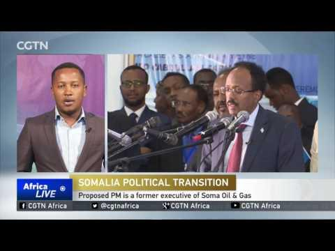 President Farmajo Picks Hassan Ali Khaire For PM Post