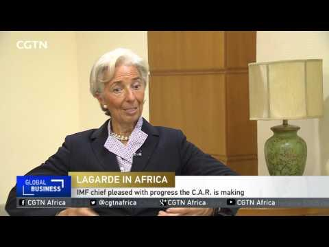 IMF Chief Pledges More Support For Central African Republic