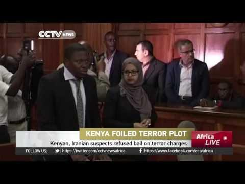 Kenyan, Iranian Suspects Refused Bail On Terror Charges