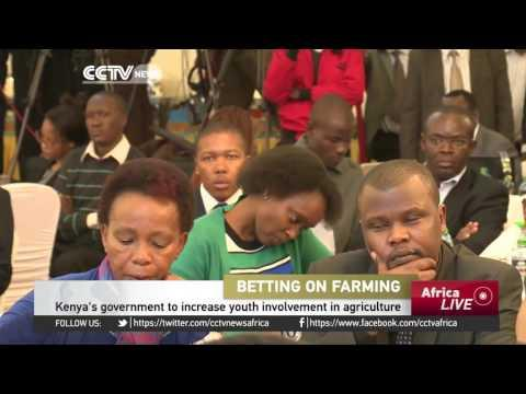 Kenya's Government To Increase Youth Involvement In Agriculture
