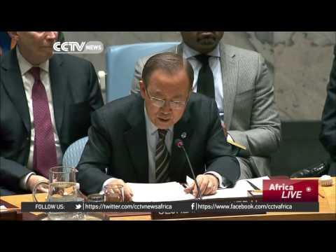 UN Chief Urges UNSC To Impose Arms Embargo On South Sudan