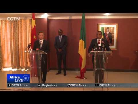 Chinese FM Holds Talks With President Sassou-Nguesso
