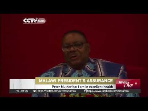 President Peter Mutharika Says He's In