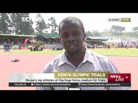 Two-day Trials For Rio Olympic Games Underway In Kenya