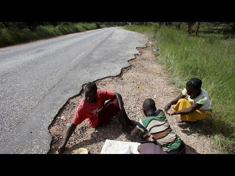 Parents Leave Children in Drought Hit Area in Zmbabwe