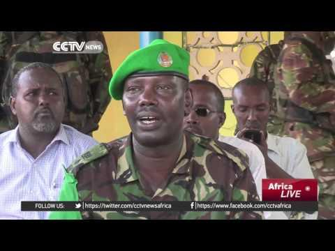 Kenyan Troops Donate Stationary And Other Education Materials In Somalia