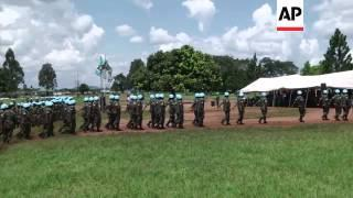 Ugandan Peacekeeping Soliders Complete Training Ahead Of Deployment To Somalia