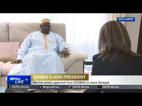 CGTN Speaks To Adama Barrow On His Plans To Rebuild The Country