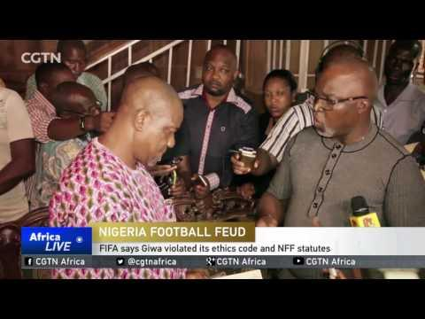 FIFA Extends Worldwide Ban On NFF Rival Chris Giwa