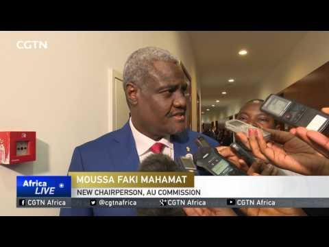 Chad's Moussa Faki Mahamat Becomes New AU Commission Head