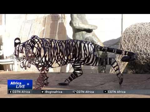 South Africa Scrap Art: Two Artists In Cape Town Turn Trash Into Beautiful Sculptures