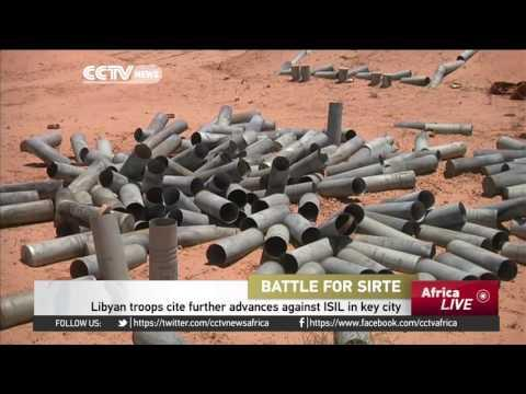 Libyan Troops Cite Further Advances Against ISIL In Key City