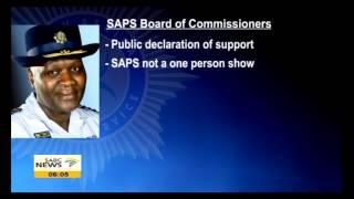 Phiyega Gets Backing From Provincial Commissioners