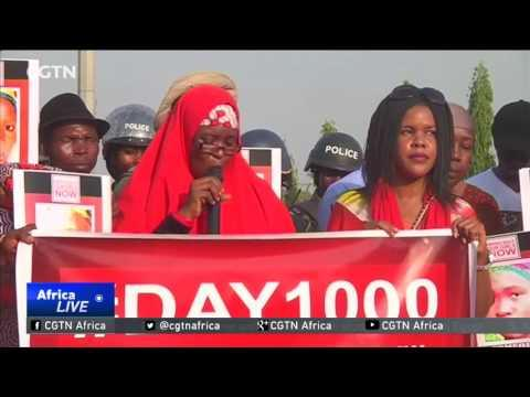 Protestors In Nigeria Mark 1,000 Days Since Chibok Girls' Abduction