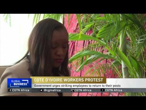 Cote D'Ivoire Government Urges Striking Employees To Return To Their Posts