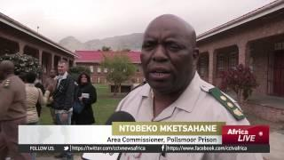 South Africa's Minister for Correctional Services Visits Crowded Pollsmoor Prison